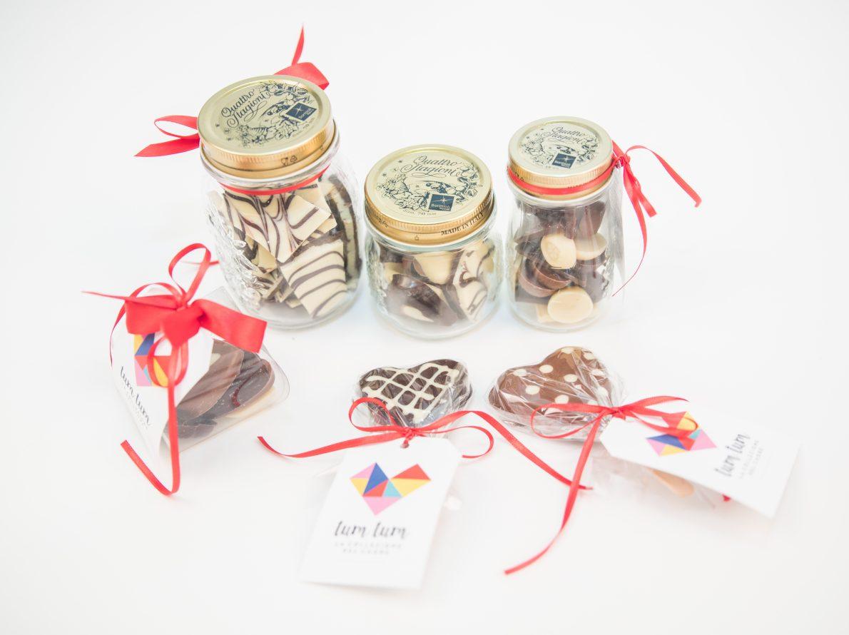 Prodotti vari in cioccolato artigianale
