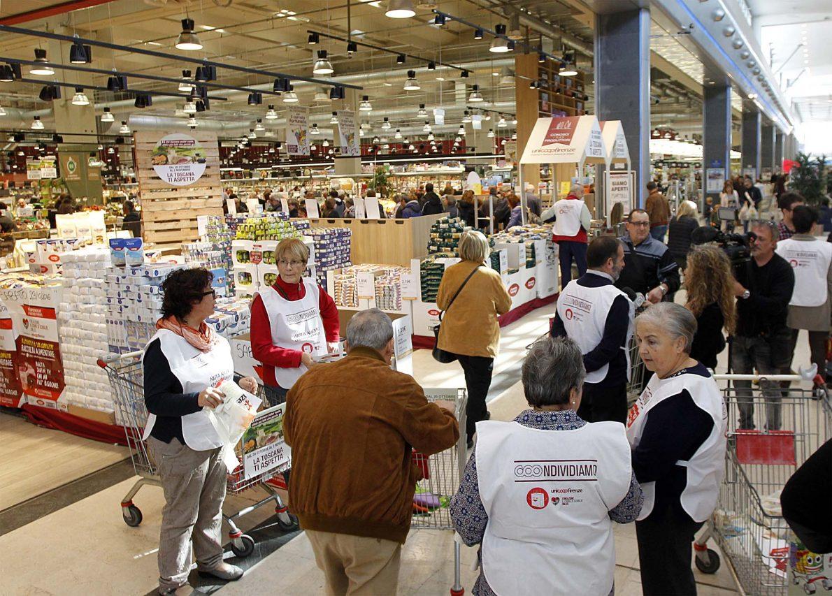 #COOndividiamo: 186 tonnellate di prodotti per chi ha più bisogno