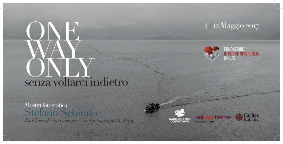 One way only, in mostra dal 4 maggio a Prato
